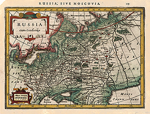 Russland - Mercator - Janssonius