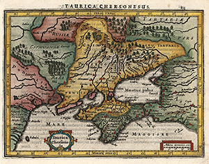Ukraine - Mercator - Janssonius