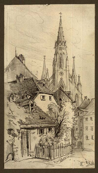Skell: Munich - St. John's Church