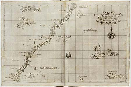 Lucini/Dudley: Sea Chart – South America – Brazil