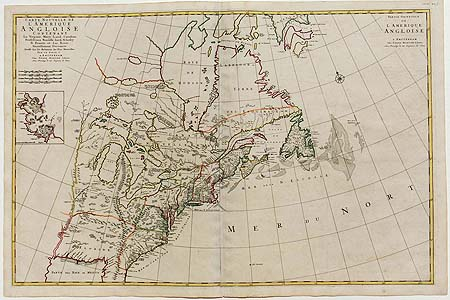 Mortier: Sea Chart – North America – Canada