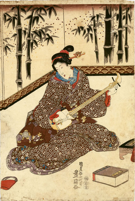 Kunisada: Ladies making music