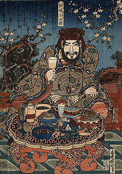 Kunisada - The pledge of loyalty