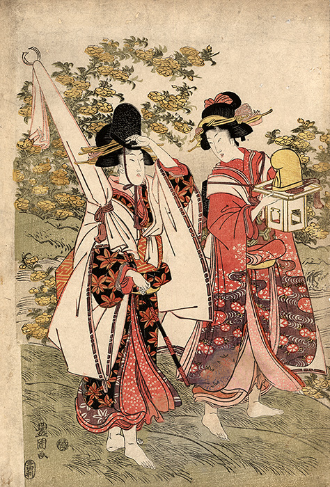 Toyokuni - Two beauties