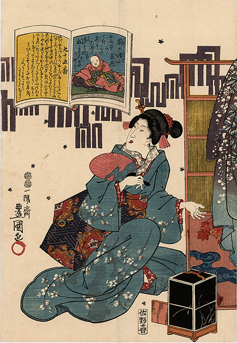 Kunisada - Two beauties