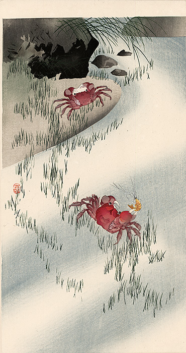 Koson - Two red crabs
