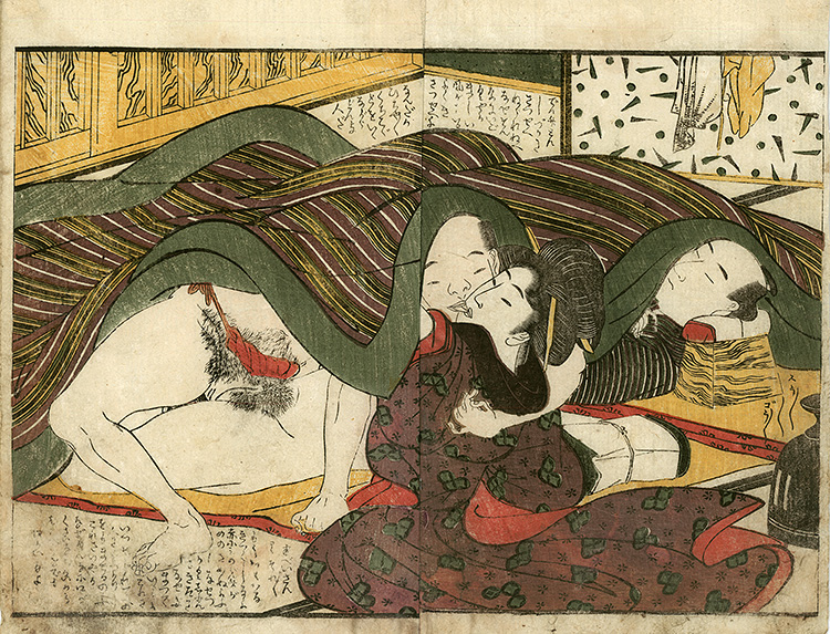 Utamaro - Secret lovers