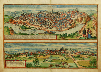 Toledo and Valladolid-Braun & Hogenberg