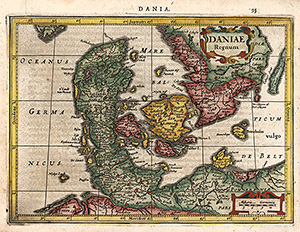 Dänemark - Mercator - Janssonius