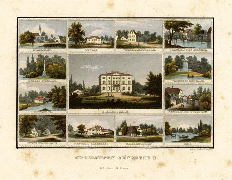 Munich - Various views of Schwabing