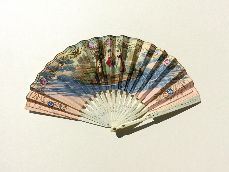 Germany: Empire Folding Fan